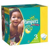 380 Couches Pampers Baby Dry sur auchan