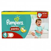 Giga pack de 208 Couches Pampers Baby Dry Pants sur auchan
