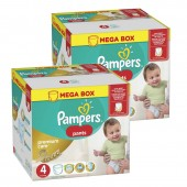 Couches Pampers premium care pants taille 4 - 132 couches bébé