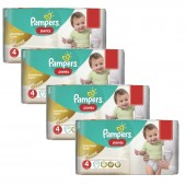 Couches Pampers premium care pants taille 4 - 330 couches bébé