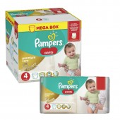 Couches Pampers premium care pants taille 4 - 528 couches bébé