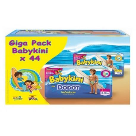 Le Giga Pack Dodot Baby Kini 44 Couches de bains de taille 5 (Junior) de Starckman