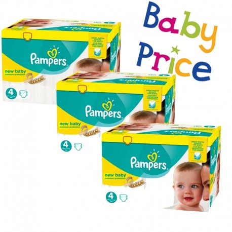 Couches Pampers new baby premium protection taille 4 - 256 couches bébé de Starckman