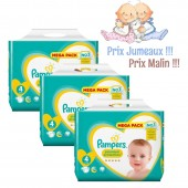 Couches Pampers new baby premium protection taille 4 - 384 couches bébé