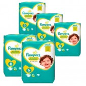 Couches Pampers new baby premium protection taille 6 - 112 couches bébé