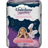 Pack 10 Couches Pampers Underjams sur auchan