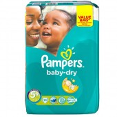 Pack 35 couches Pampers Baby Dry