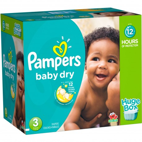 Maxi Giga Pack 360 Couches Pampers Baby Dry de Starckman