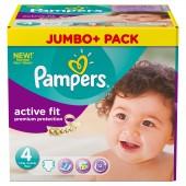 Pack économique 336 Couches de Pampers Active Fit sur les looloos