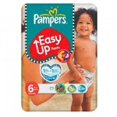 Pack 38 Couches Pampers Easy Up sur tooly