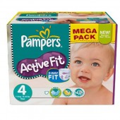 Maxi Pack 273 Couches Pampers Active Fit sur 123couches