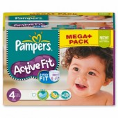 Pack économique 312 Couches Pampers Active Fit sur tooly