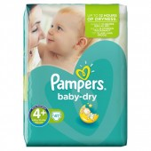 Pack de 41 Couches Pampers Baby Dry sur 123couches