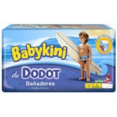 Les Couches de bain en Pack d'une quantité de 11 Dodot Maillot de bain (14-18 kg) de taille 5 (Junior)