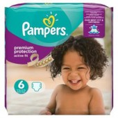 Pack 64 Couches Pampers Active Fit sur les looloos