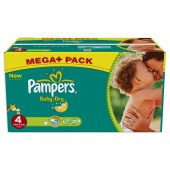 Maxi Pack 360 Couches Pampers de Baby Dry sur 123couches