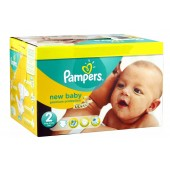 Giga Pack 80 Couches Pampers New Baby Dry sur leroidelacouches