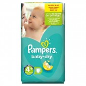 Pack 42 Couches Pampers de Baby Dry sur 123couches