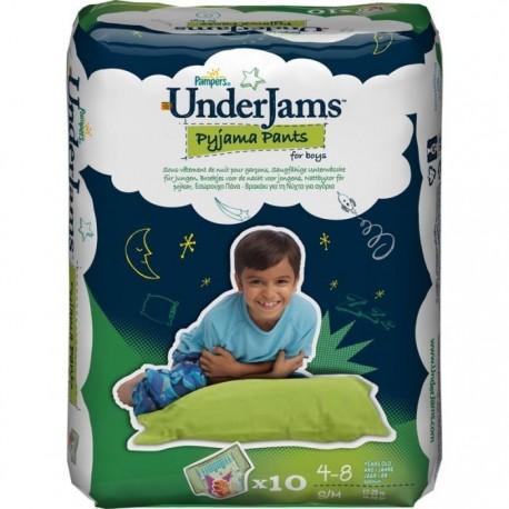 Couches Pampers Underjams taille S/M - 10 couches pour garçons de Starckman