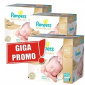 Maxi Mega Pack Jumeaux 1012 couches Pampers Premium Care