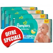 Couches Pampers Active Baby Dry taille 3 - 660 couches