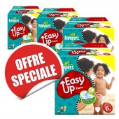 Maxi Giga Pack Jumeaux 570 Couches Pampers d'Easy Up sur soscouches