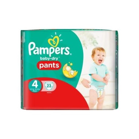 Couches Pampers Baby Dry Pants taille 4 - 23 couches de Starckman