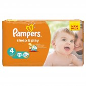Pack 50 Couches Pampers Sleep & play
