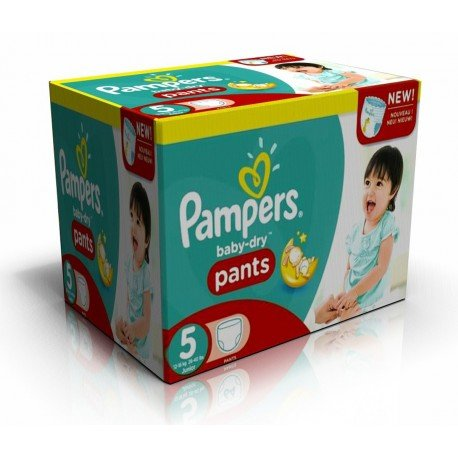Couches Pampers Baby Dry Pants taille 5 - 210 couches de Starckman