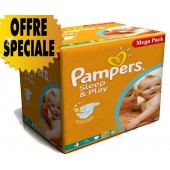 Mega Pack 250 couches Pampers Sleep & Play