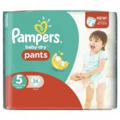 Pack 24 Couches Pampers Baby Dry Pants