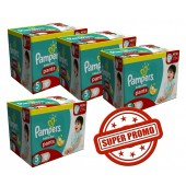 Gros pack 114 Couches Pampers Baby Dry Pants sur auchan