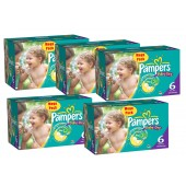Gros pack 304 Couches Pampers Baby Dry sur layota