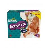 Couches Pampers Active Fit taille 3 - 360 couches