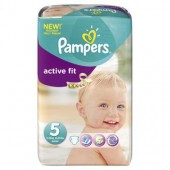 Pack 23 Couches de Pampers Active Fit sur soscouches