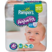 Pack de 21 Couches Pampers Active Fit sur les looloos
