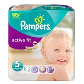 Pack 92 Couches de Pampers Active Fit sur couches zone
