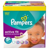 Pack de 58 Couches Pampers d'Active Fit sur soscouches