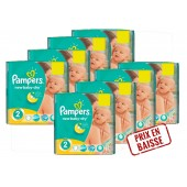 Maxi Giga Pack 408 couches Pampers New Baby Dry