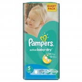 Pack 42 couches Pampers Active Baby Dry