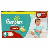 Pack 94 Couches Pampers de Baby Dry Pants sur auchan