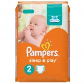 Pack 68 Couches Pampers de Sleep & Play sur layota