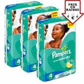 giga pack 588 Couches Pampers Active Baby Dry sur auchan