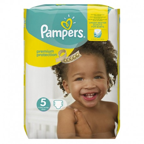 68 Couches Pampers Premium Protection - New Baby taille 5 de Starckman