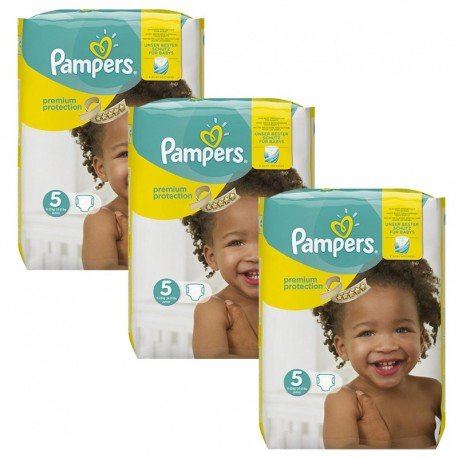 204 Couches Pampers Premium Protection - New Baby taille 5 de Starckman