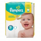Pack 32 Couches de Pampers Premium Protection sur auchan