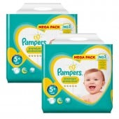 Giga Pack de 256 Couches de Pampers Premium Protection sur auchan