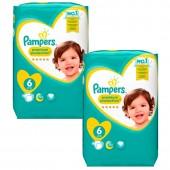 Mega Pack de 240 Couches de Pampers Premium Protection sur auchan