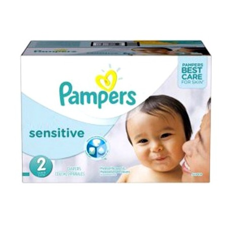 Couches Pampers New Baby Sensitive taille 2 - 360 couches de Starckman