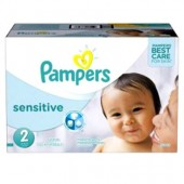 Couches Pampers New Baby Sensitive taille 2 - 360 couches